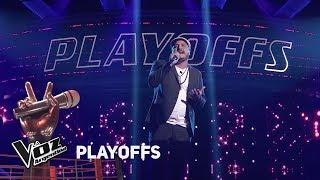"""Playoffs #TeamSole: Darío Lazarte canta """"Y cómo es él"""" de..."""