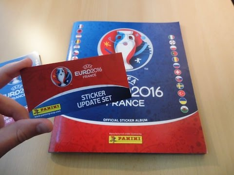 Panini Uefa Euro 2016 France Update Sticker Einkleben || 84