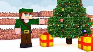 Minecraft PE 0.13.1 : Survival #31 - Construindo a Árvore de Natal !
