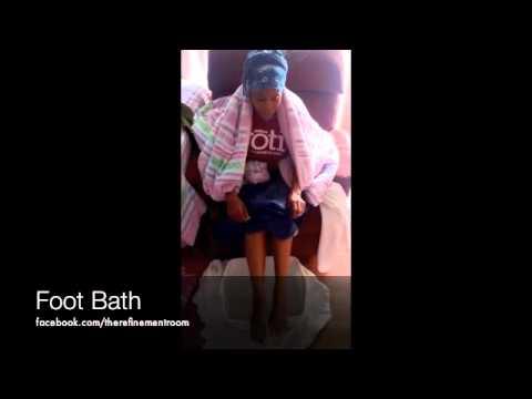 Ice Cold Foot Bath