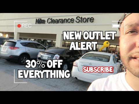 Nike Outlet VLog APRIL 2017 Clearance Store Kissimmee FL