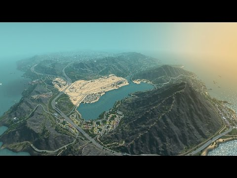 Los Santos in Cities: Skylines - IGN Plays