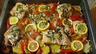 (0.11 MB) Lachs im Ofen mit Gemüse-Firinda sebzeli balik Mp3
