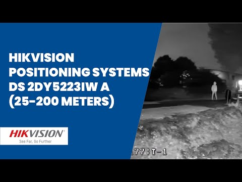 Hikvision Positioning Systems DS-2DY5223IW A (25 - 200 meters)