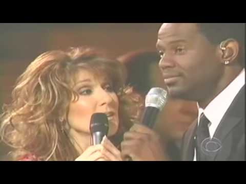 Celine Dion ft Brian McKnight ~ The Beauty And The Beast ~  2002 CBS Special @ Kodak T