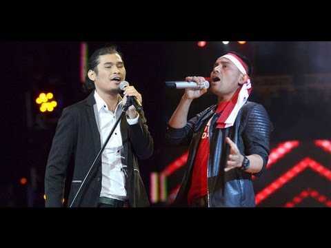 KEREN!!! Duel 2 Mantan Vokalis Mahadewa Band (Virzha VS Judika)