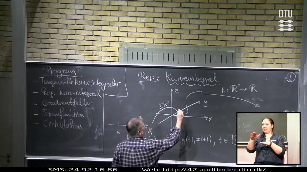 Lek 25 | Matematik 1 - Tangentielt Kurveintegral (Part 1/2)
