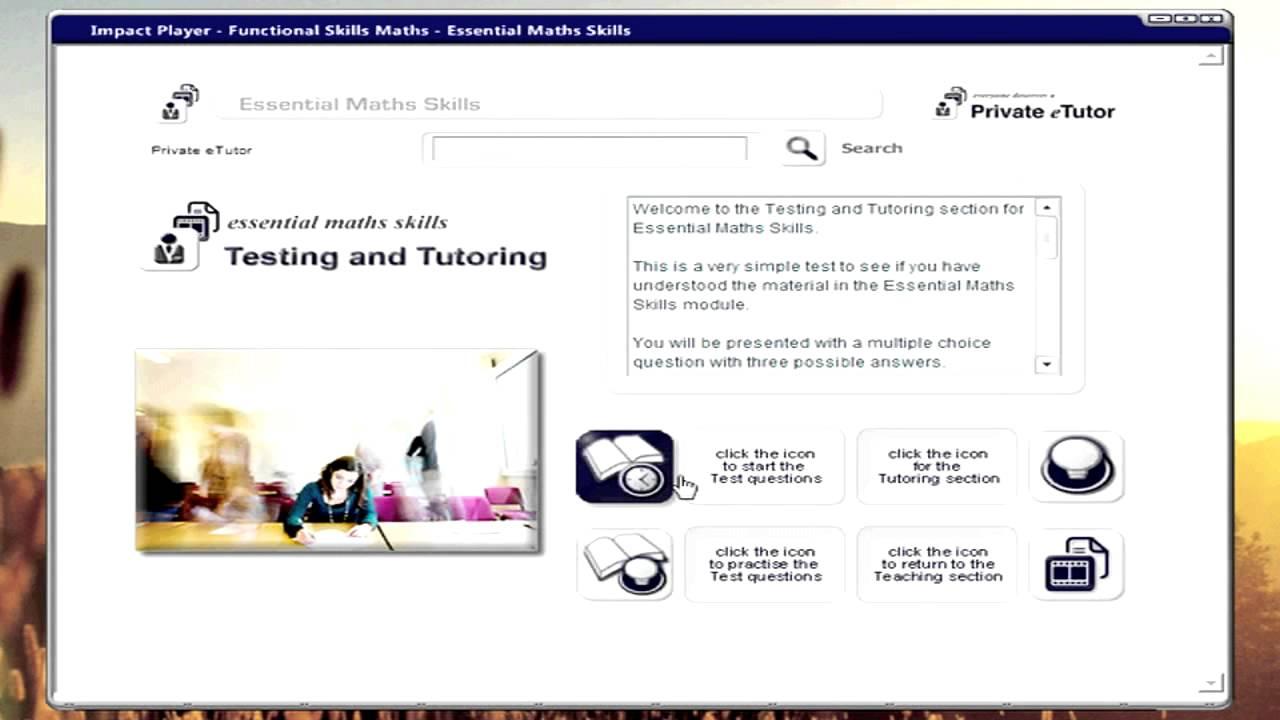 Functional Skills Maths - Module 1 - Essential Maths Skills - Video ...
