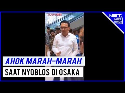 FULL VIDEO - Ahok Marah Di Osaka Saat Pencoblosan - NET. JATIM