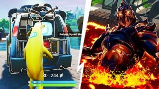 LE SKIN SECRET EST ENTERRE SUR FORTNITE ... (+ VAN DE REAPPARITION)