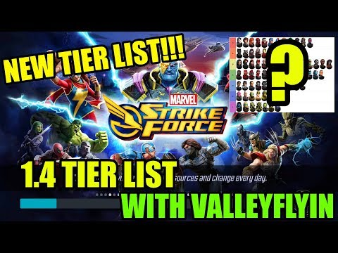 Marvel Strike Force Tier List - Scarlet Witch Patch (1.4) with ValleyFlyin!