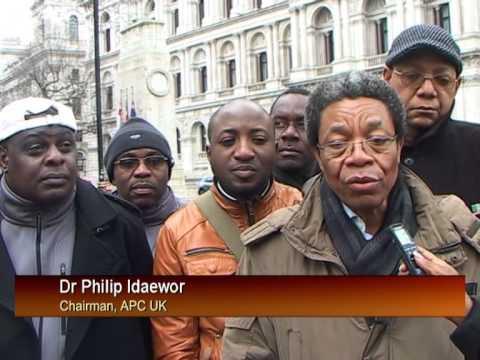 London Postponement of Eletions Diaspora Speak