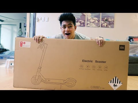 Xiaomi M365 Scooter - 2019 Unboxing & Overview | Unbox Everything Philippines