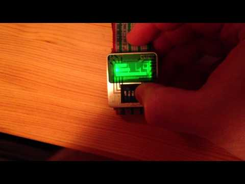 Click DIP Switch Ribbon Watch
