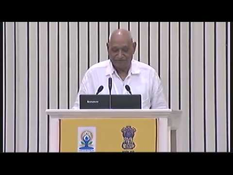 INTERNATIONAL CONFERENCE ON YOGA FOR HOLISTIC HEALTH  VIGYAN BHAWAN, NEW DELHI  JUNE 21,2015 video 4