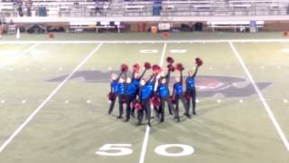 Graham HS Bella Blues Drill Team 10/23/15