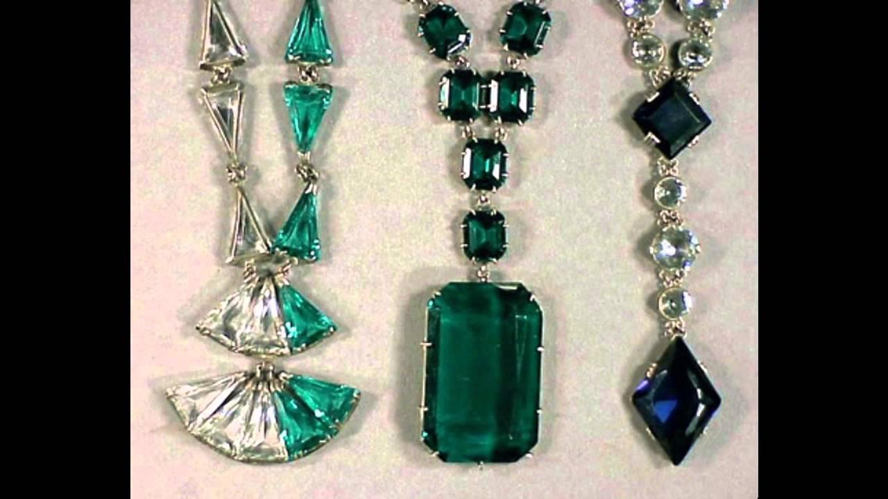 Art deco jewelry design ideas - YouTube