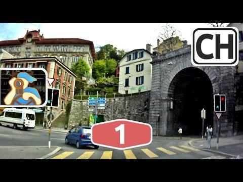 Suisse. A1 (E62). Genève - Nyon - Lausanne