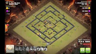 Clash of Clans Clanwars Ser Giù VS Adults Only