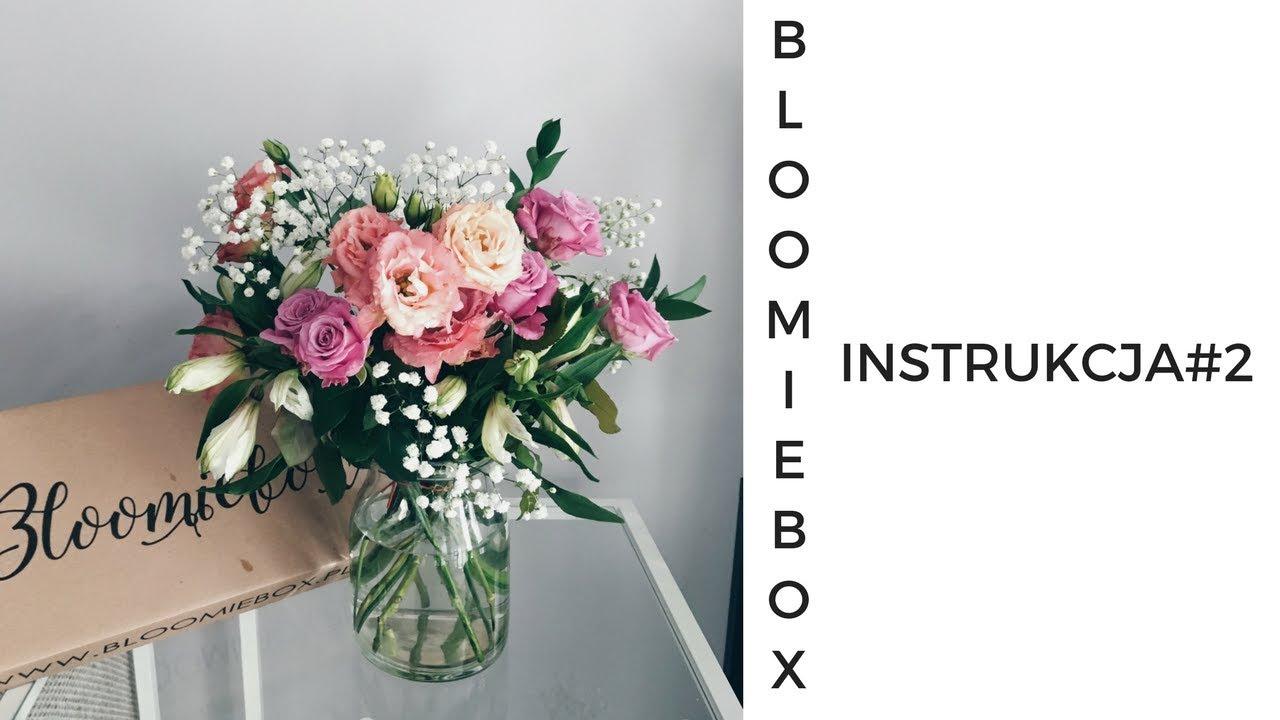 Instrukcja 2 Jak Ulozyc Bukiet Ze Swiezych Kwiatow Bloomiebox Diy Youtube