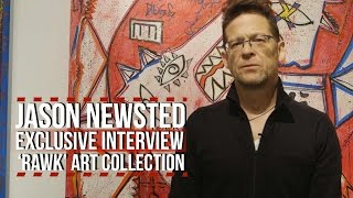 Jason Newsted's 'RAWK' Art Exhibition + How Lars Ulrich Influenced His Work