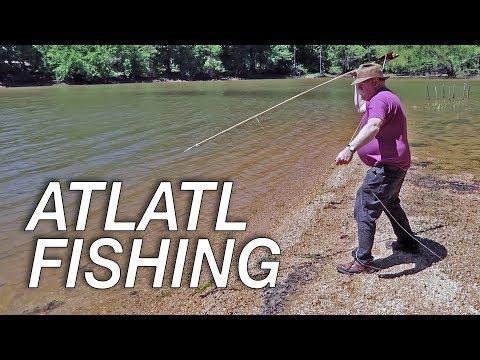 Atlatl Fishing For Asian Carp In Kentucky