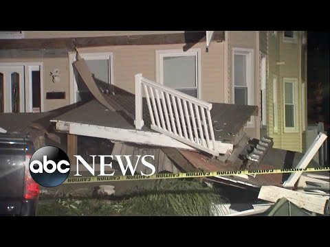 Deck collapse in New Jersey injures 22 people