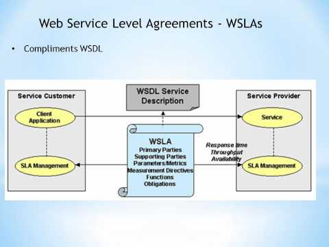 TDC 562 Web Service Level Agreements