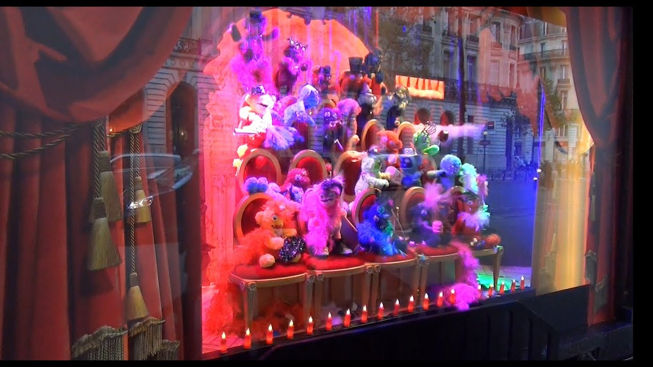 Christmas paris 2014 vitrine d coration de no l - Magasin deco noel paris ...