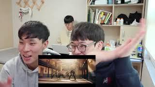 Korean College Dudes Reaction To BTS(방탄소년단) - MIC DROP(STEVE AOKI REMIX) MV!