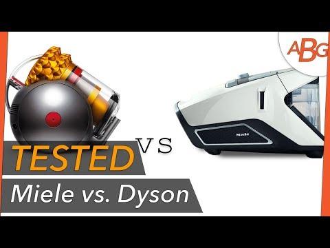 MIELE vs DYSON! Bagless Vacuum Comparison Test - 2 Months In