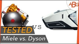 MIELE vs DYSON! Bagless Vacuum Comparison Test - 2 Months In