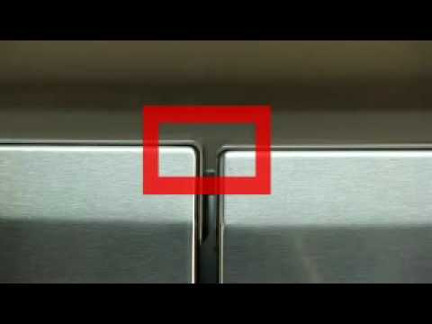 Bottom Freezer Refrigerator Door Alignment Youtube
