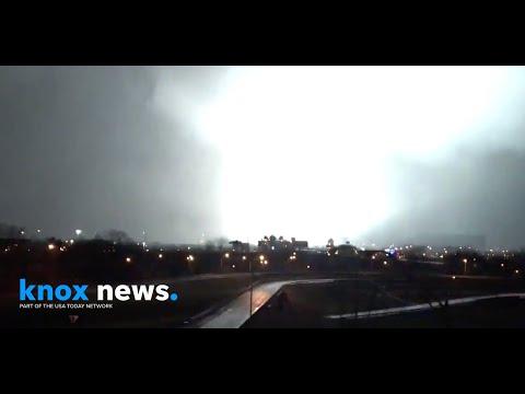 Downtown Nashville tornado: Severe weather hits Music City