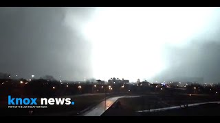 A video taken from 5th & main in east nashville shows the storm system that swept through area early tuesday morning. (video courtesy of brian bates)the ...