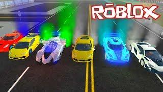 Mit meinem neuen Auto und den Autos deines Teams! Roblox Fahrzeug Simulator