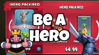Clash Royale & Clash of Clans | HOW TO BE A HERO | Red Event