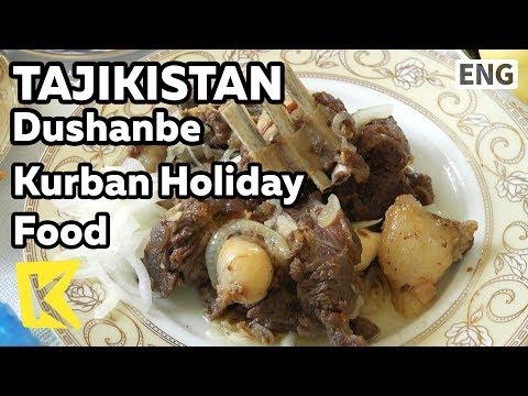 【K】Tajikistan Travel-Dushanbe[타지키스탄 여행-두샨베]쿠르반명절 음식/Kurban bayrami/Khom shurbo/Gosht biryani