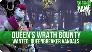 Destiny - Wanted: Queenbreaker Vandals - Queen