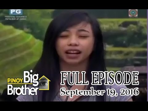 Pinoy Big Brother: PBB Lucky 7 - September 19 2016 Full