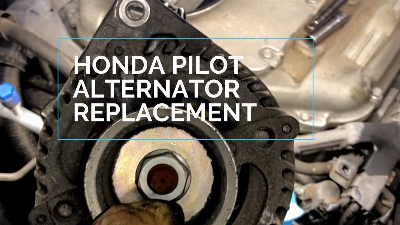 How To Replace Alternator Honda Pilot 2009 2015 Youtube