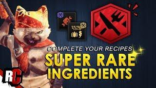 Super RARE Canteen Ingredients   Monster Hunter World (Hidden Ingredient Locations)