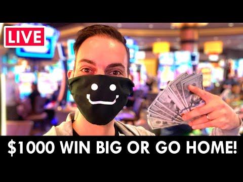 🔴 LIVE 🎰 $1000 WIN BIG Or Go Home!! 🎲 Gila River Hotel & Casino Wild Horse Pass