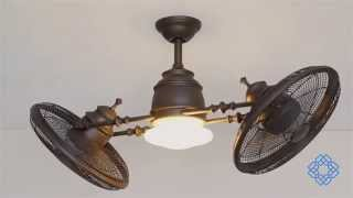 Minka Aire Vintage Gyro Ceiling Fan - Bellacor
