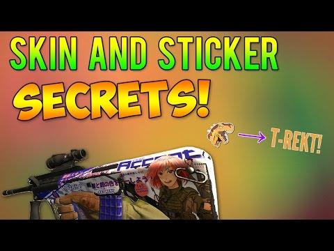 CS:GO - Skin & Sticker Secrets!