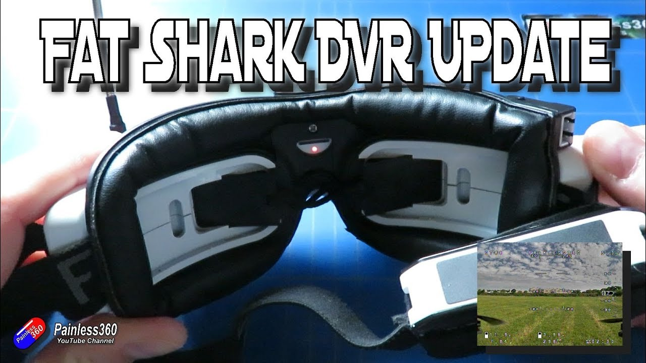 FatShark DVR Firmware Update - Fixes Dropped Frames