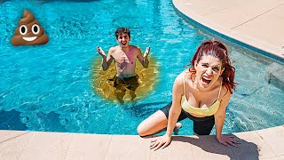 I had an ACCIDENT in the Swimming Pool.. **embarrassing**