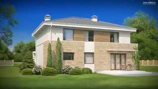 Проект дома Zx29