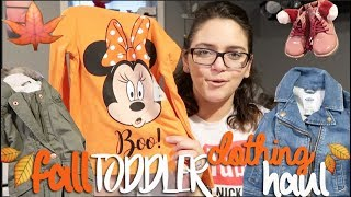 HUGE FALL TODDLER CLOTHING HAUL!