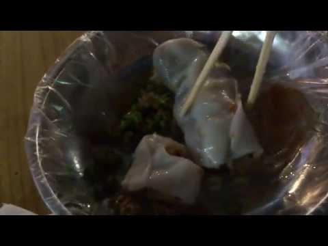 ข้าวเกรียบปากหม้อจีนหนานหนิงอร่อยมาก Nanning street food